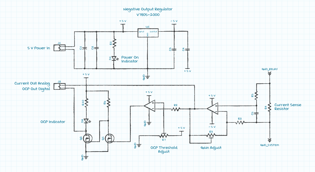 schematic of current board