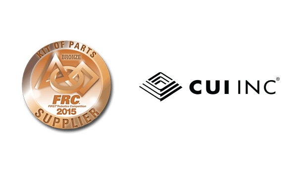CUI Inc Enables the Next Generation of Innovators as a Supplier for the FIRST® Robotics Competition
