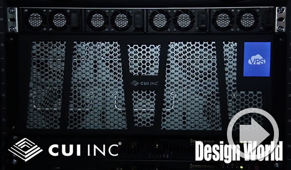 Software Defined Power® - CUI with Design World at APEC 2016