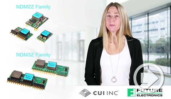 Future Electronics etech ALERT Features CUI's Novum® Digital POL Modules