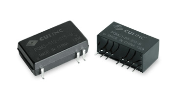 3 Watt Isolated Dc-Dc Converters Reduce Board Space and Cut Power Consumption in Industrial Applications