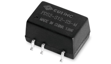 CUI Introduces 2 W Isolated Dc-Dc Converter with a Reduced Footprint