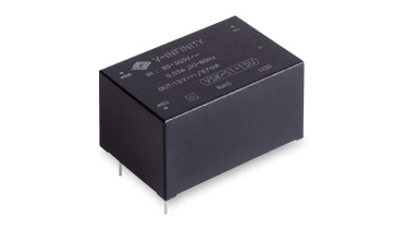 CUI's Ac-Dc Modules Deliver up to 2 Watts from 0.8 in3 Space-saving Package